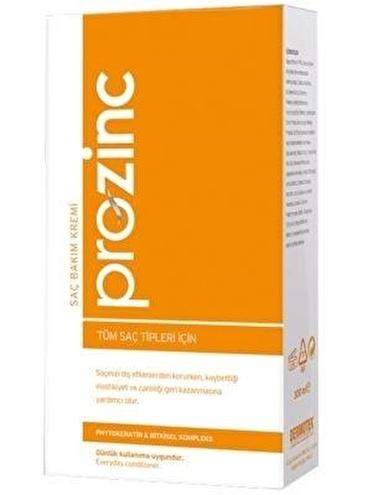 Prozınc PROZINC Tüm Saç Tipleri İçin Saç Bakım Kremi 300 ml Renksiz